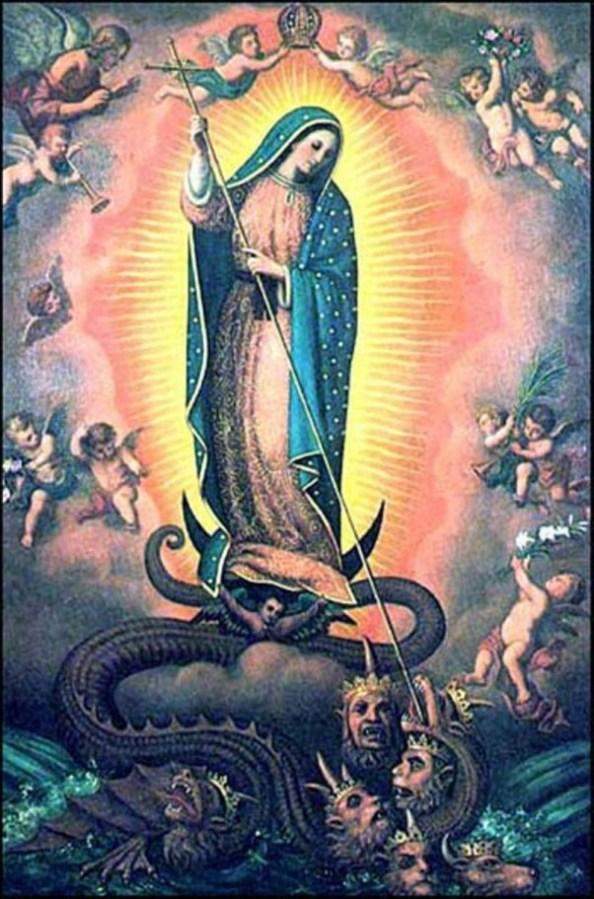 • El Papa Francisco: En esta «atmósfera» de Tercera Guerra Mundial...  Madre-divina