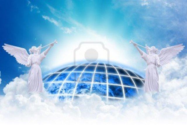 14396420-los-angeles-del-cielo-y-la-tierra-de-fondo