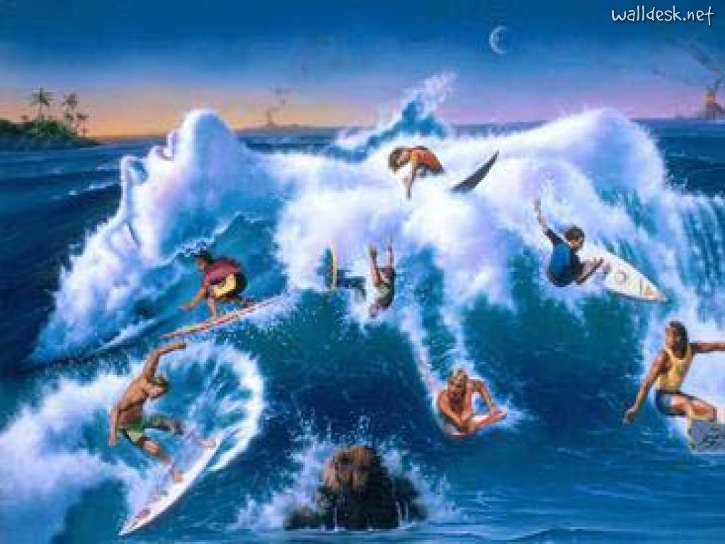 Women Wild Surf