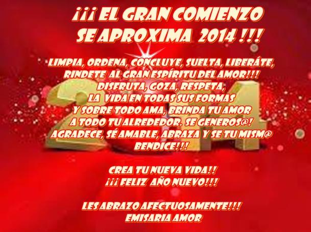 feliz año nuevo
