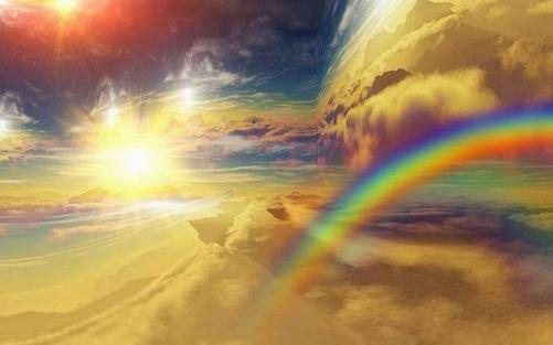 arcoiris luz