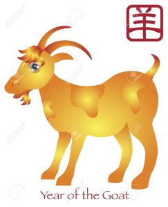 15466472-chinese-new-year-of-the-goat-zodiac-with-chinese-goat-text-illustration