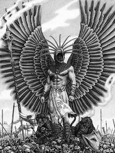 Oración Del Guerrero Azteca Curación Del Alma Emisaria Amor Y Paz