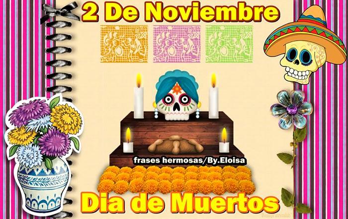 Dia De Muertos En México 2 De Noviembre 2015 Curación